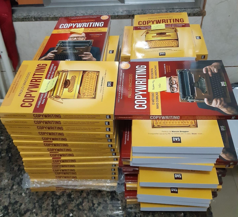 Qual a diferença entre os livros Vermelho e Dourado de Copywriting?