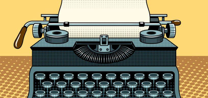vintage-mechanic-typewriter-pop-art-style-vector-17218784
